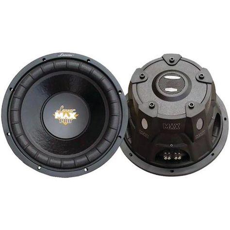 Lanzar Max12d 12-Inch Dual Voice Coil Subwoofer forSmall Enclosures