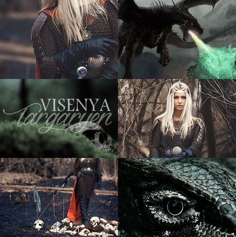 Queen Visenya Targaryen As Cronicas De Gelo E Fogo Fogo E Gelo