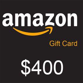 Amazon Gift Card 400