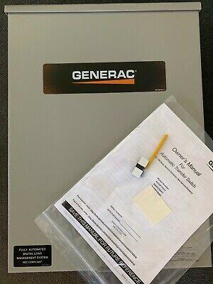 Ad Ebay Url Genearc Rxsc100a3 100 Amp 120 240 Single Phase Nema 3r Smart Transfer Switch Transfer Switch Switch Ebay