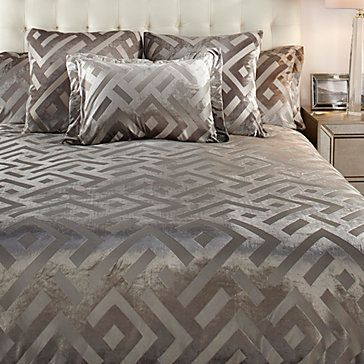Maddox Bedding Steel Z Gallerie Affordable Modern Furniture