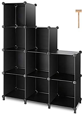 Swell Amazon Com Tomcare Cube Storage 9 Cube Closet Organizer Interior Design Ideas Lukepblogthenellocom