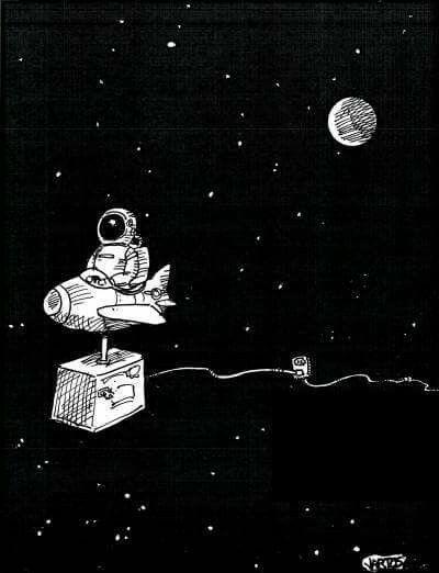 Astronaut Wallpaper 3 Tumblr Space Drawings Astronaut Art Art Astronaut black and white wallpaper