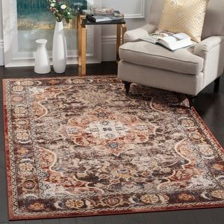 Safavieh Bijar Birtha Traditional Distressed Oriental Rug Rugs Area Rugs Vintage Rugs