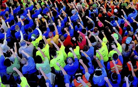 Thinking of those dedicated students participating in Penn State Thon this weekend