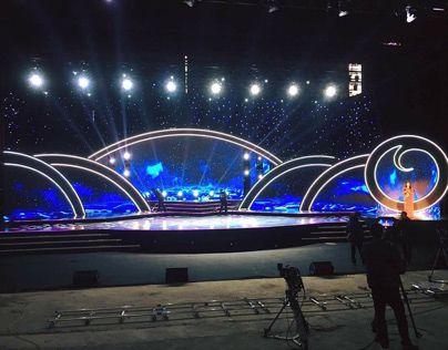Mb Bank Ncc Ha Nội On Behance Concert Stage Design Journey Tour Stage Design