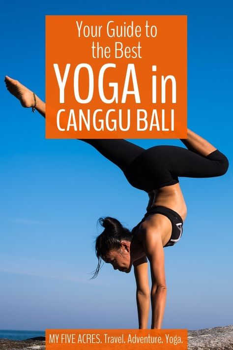 Looking for a great place to practice yoga in Canggu, Bali? You're in luck! As Canggu's popularity grows, so do the opportunities to practice yoga. Here's your guide to our favourite Canggu Yoga Studios. #bali #indonesia #travel #yoga