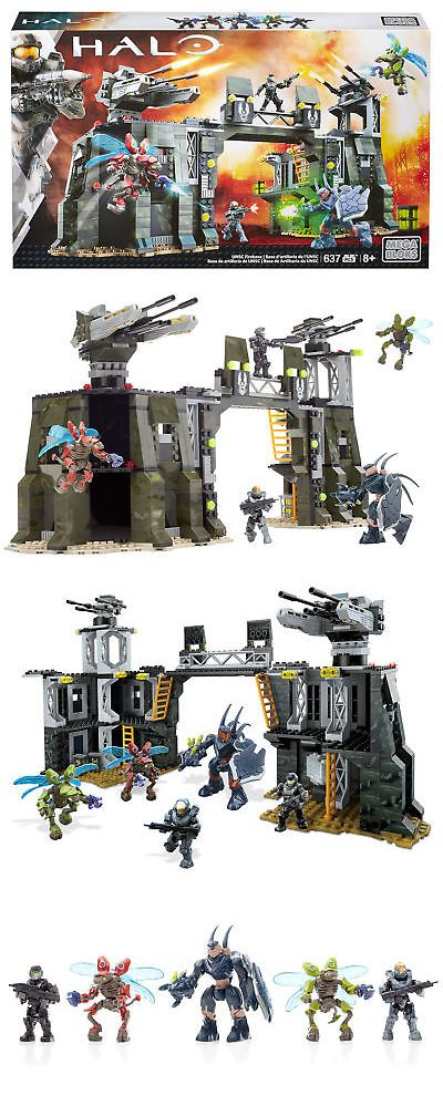 Mega Boys Halo Megabloks Halo UNSC Firebase | Blocks and