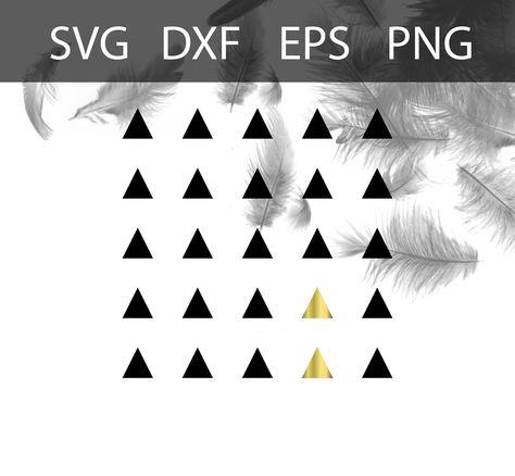 triangle pattern downloadable svg digital print valerian rh pinterest com au