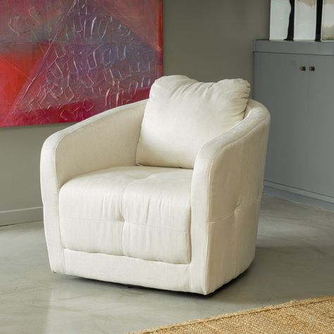 Christopher Knight Home Concordia Fabric Swivel Chair - Overstock™ Shopping - Great Deals on Christopher Knight Home Living Room Chairs