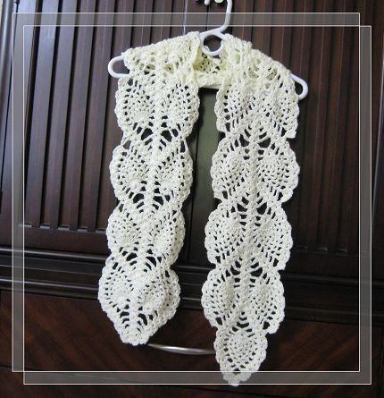 Free Pineapple Crochet Scarf Patterns Google Search Thread And