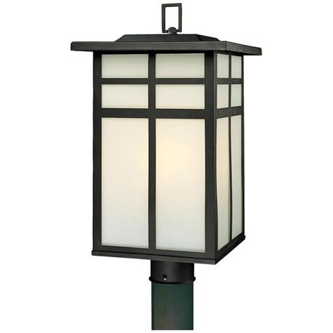 Mission 3 Light Post Lantern In Black Product Details Collection Mission Upc 020389178381 Finish Thomas Lighting Outdoor Lamp Posts Lamp Post Lights