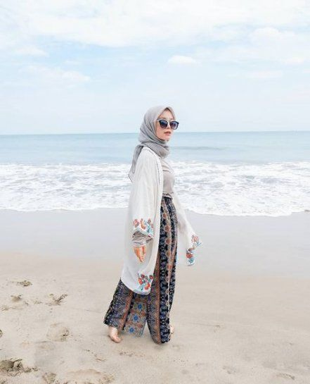 Best Fashion Pantai Hijab Style Hijab Pantai 16 Ideas For