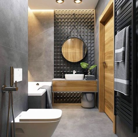 ️ Bathroom Design #picoftheday #toilette #wc #bathroom #bathroomdecor #bathroomdesign #bathroomideas #classy #luxury #passiondeco