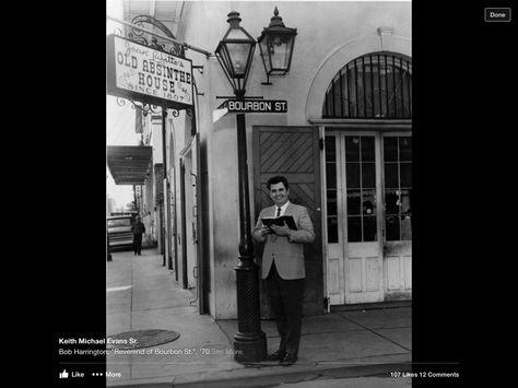 The Reverand of Bourbon Street
