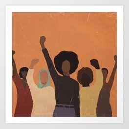 Discover Black Artists Society6 Art People Art Art Prints