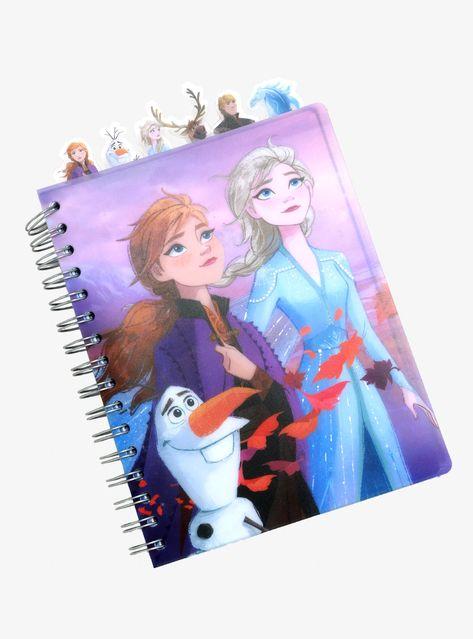 OFFICIAL Disney Frozen Elsa A5 Olaf Spiral Ring-binder Notebook Anna /& Olaf Stationary School Set