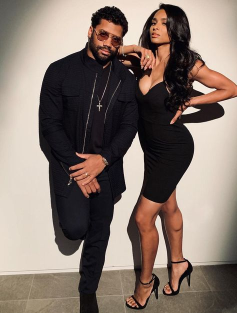 🔥🔥🔥 Ciara and Russell Wilson! Ciara Style, Black Love Couples, Cute Couples, Black Celebrity Couples, Celebrity Photos, Baddie, Ciara And Russell Wilson, Ciara Wilson, Black Celebrities