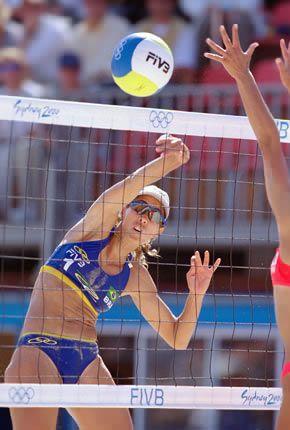 Nice Hit Beach Volleyball Sport Chic Sports