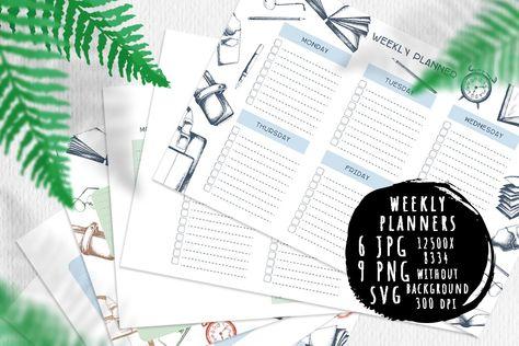 Back to school planners (1019482) | Educational | Design Bundles