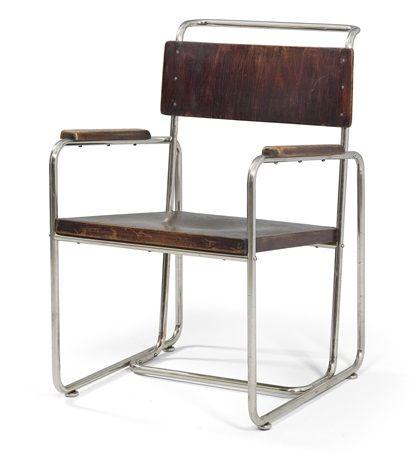 An Armchair By Robert Slezak Bauhaus Furniture