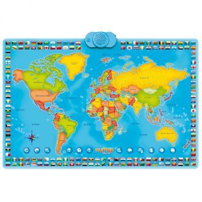 Harta Interactiva A Lumii Momki Bilingv Romana Engleza Emag Ro
