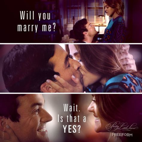 We're so ready for an #Ezria wedding!  | Pretty Little Liars