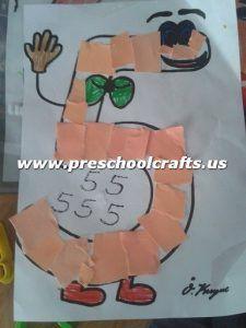Numbers Craft Ideas For Preschool Preschool And Kindergarten