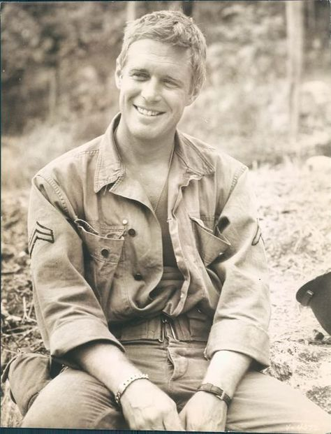George Peppard (I was often told he was my look-a-like 20 years ago)
