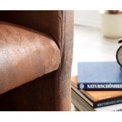 Delife Cocktail Armchair Pieder Braun Lounge Upholstered Antique Look Cocktail Armchair Delife Antique Armchair In 2020 Armchair Vintage Cocktail Armchair Armchair
