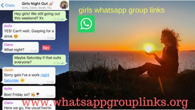 JOIN GIRLS WHATSAPP GROUP LINKS LIST Hello, friends, I am