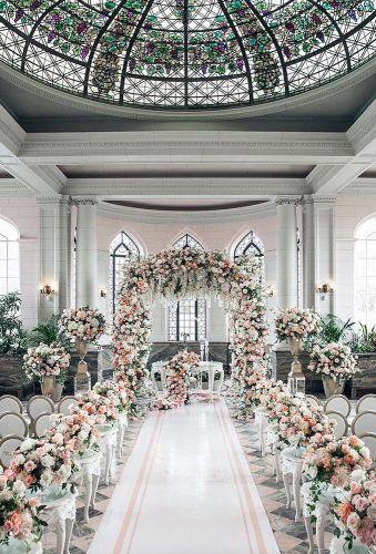 30 Luxury Wedding Decor Ideas Wedding Forward In 2020 Wedding Aisle Decorations Luxury Wedding Decor Floral Wedding Decorations