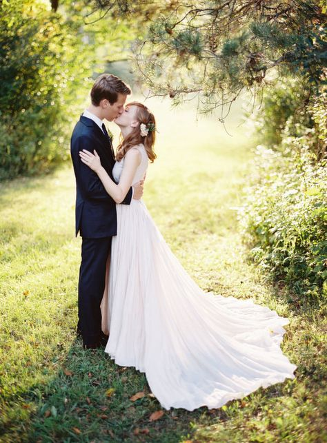 kendra + john | Julie Gown by Peter Som for BHLDN | curtis wiklund photography | #BHLDNbride