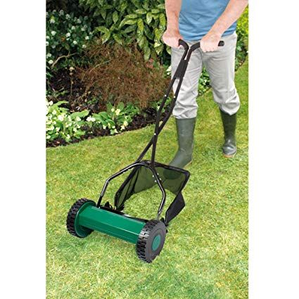 Coopers Of Stortford Hand Push Manual Garden Lawn Mower Grass Mower Lawn Mower Lawn