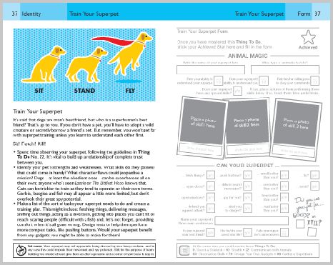 Train Your Pet Sit Stand Fly Illustration Taken From The Book 101 Things To Do To Become A Superhero Or E Evil Geniuses Things To Do Animal Magic