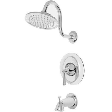Pfister Pr898glc P0x8310a Saxton One Handle Tub Shower Faucet