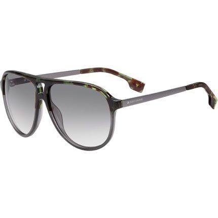 5d594669ff94 Hugo Boss Orange 0049/S Men's Aviator Full Rim Sports Sunglasses - Havana  Gray/Gray Gradient / Size 59/13-140 Hugo Boss. $99.00.