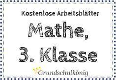 Für klasse kostenlos 3 mathe 3. Klasse