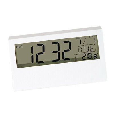 Details About Digital Alarm Clock Time Temperature Calendar For