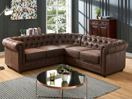 Sofa Sectionnel En Microfibre In 2020
