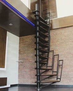 Check Out This Collapsible Staircase By Odd Ambli Who Wants One Follow Platform For Daily Design Content And Spiral Staircase New Staircase Staircase