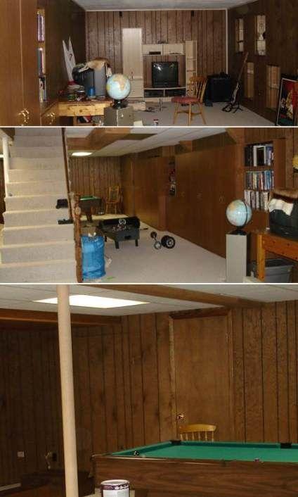 Super Painting Wood Paneling Walls Basement 27 Ideas Paneling
