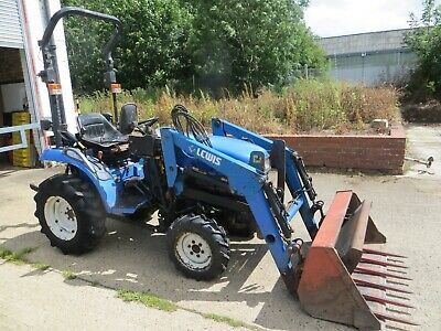 Ad Ford New Holland Tc21 Compact Tractor Loader Ride On Lawn Garden Tractor New Holland Tractor New Holland Ford Tractor Loader