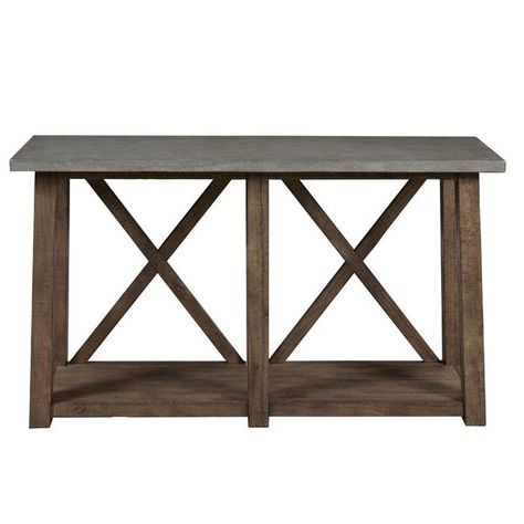 Goodlow Console Table Rustic Sofa Tables Wooden Console Table