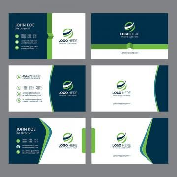 2in1 Black Blue Brand Bundle Business Business Card Business Card Bundle Card Business Card Design Simple Printing Business Cards Modern Business Cards