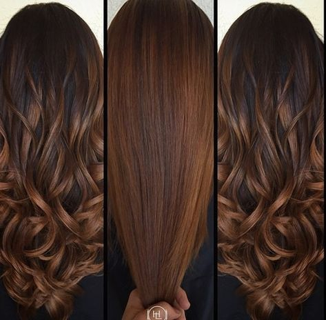 14 Winter Hair Color Trends You Have To Watch This Year - Color para el cabello - Chocolate Brown Hair Color, Brown Hair Colors, Chocolate Hair, Cinnamon Brown Hair Color, Fall Hair Colour, Caramel Hair With Brown, Fall Hair Color For Brunettes, Hair Color Balayage, Ombre Hair
