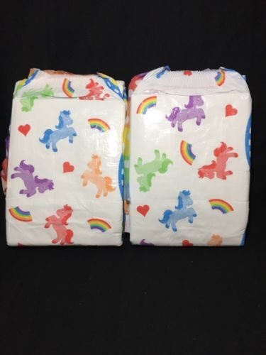 Pampers Size 7 Pull Up Nappy Pants Sample 2 Pull Ups AB//DL Adult Baby Diaper