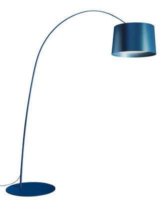 Lampadaire Twiggy Led Foscarini Bleu En Metal En 2020 Lampadaire Lampadaire Exterieur Lampe Phare