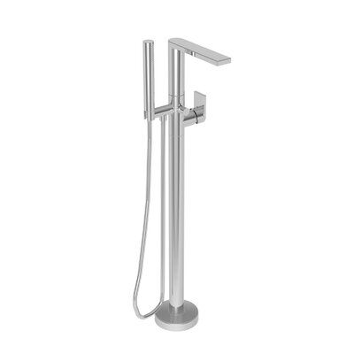 Newport Brass Free Standing Exposed Tub And Hand Shower Set Wall