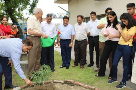 Tree Plantation Drive at Encardio rite's Lucknow campus